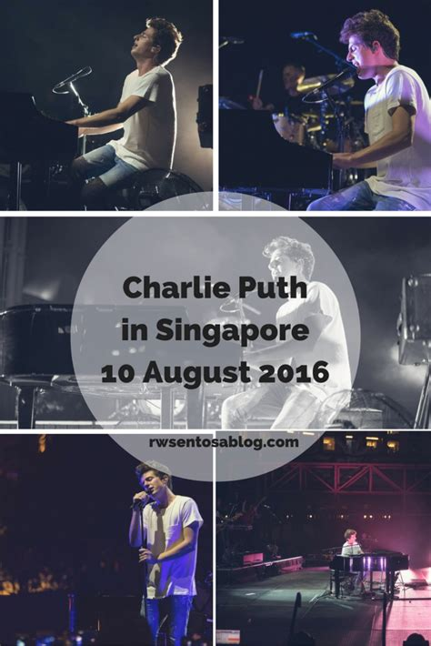 charlie puth concert singapore snapshots charlie puth in concert the resorts world