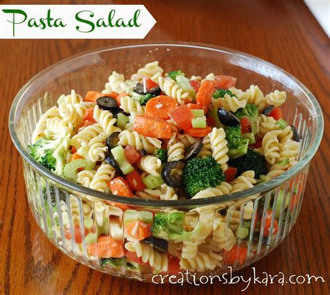 recipes for pasta salad pasta salad