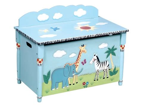 toy box ideas safari painted toy box free delivery fundraiser ideas