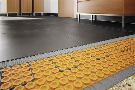 Ditra Heat Mat by Schluter Systems Ditra Heat System Jlc Flooring Heating Wiring And Cable