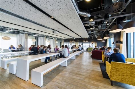 Office Space Restaurant Ireland Office By Camenzind Evolution Dublin