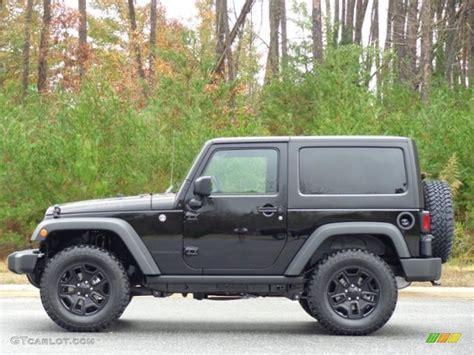 jeep willys 2016 2016 black jeep wrangler willys wheeler 4x4 111213024