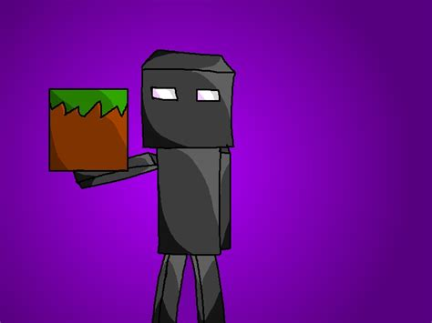 doodle draw minecraft enderman drawing by minecraft
