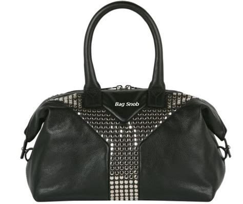 Trovata Canvas And Patent Tote The Bag Snob 4 by Ysl Easy Tote Bag