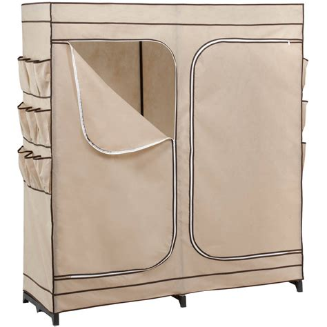 honey can do 60 door storage closet shoe door honey can do 60 quot 2 door closet storage with