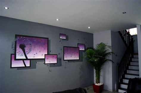 Peinture Mur Salon by Peinture Sur Mur Salon 3d Immovateur