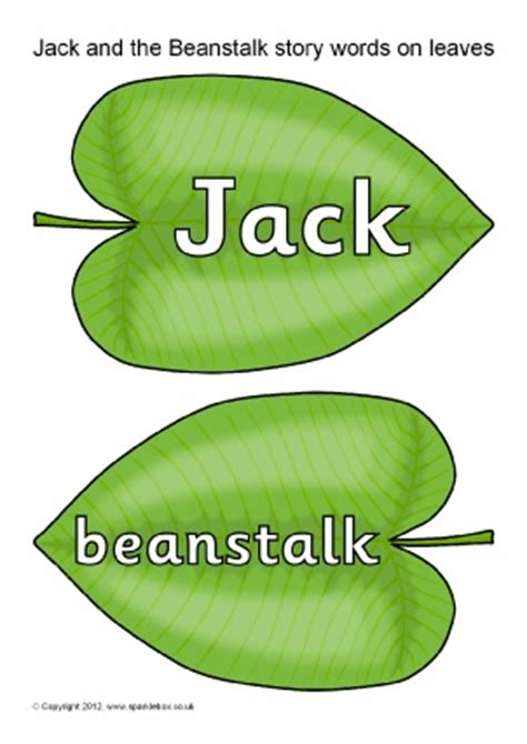jack and the beanstalk teaching resources story sack