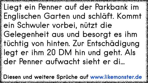 Englischer Garten Zitate by Liegt Ein Penner Auf Der Parkbank Und Schl 228 Ft Auf Einmal