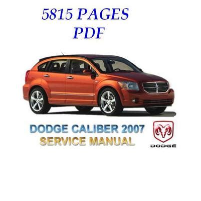 automobile air conditioning service 2007 dodge caliber electronic throttle control dodge caliber 2007 full service repair manual download manuals