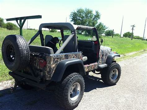 Stickers Jeep Wrangler Yj by Sell Used 89 Jeep Wrangler Yj Camouflage Sticker In Corpus