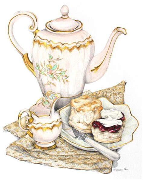 How To Pronounce Decoupage - recipe scones with clotted and strawberry jam