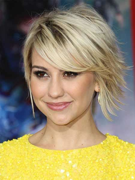 choppy bob haircut with fringe choppy hair cut with side fringe
