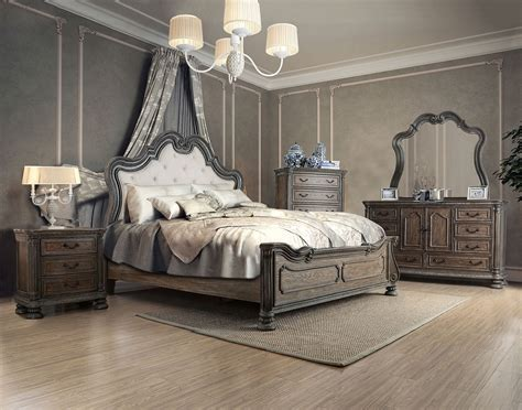 traditional bedroom set 4 piece ariadne traditional bedroom set