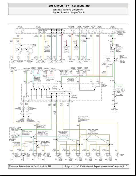 2001 Grand Marquis Wiring Diagram