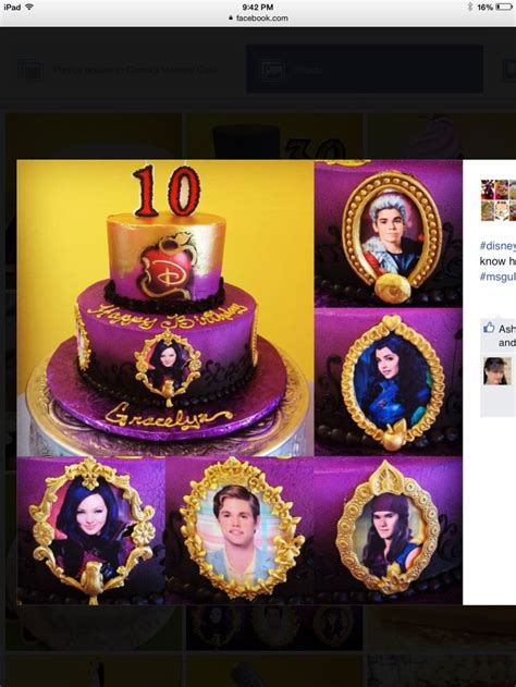 17 best images about disney descendants birthday theme ideas and supplies on