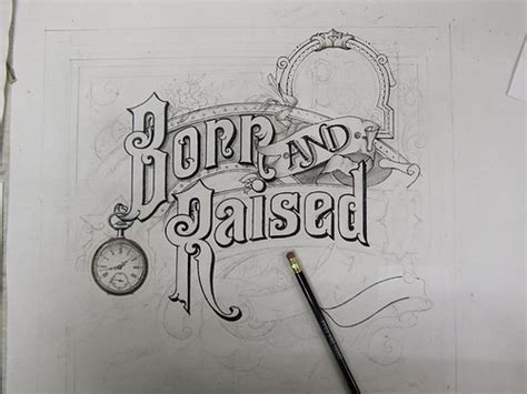 tattoo lettering raised the making of john mayer s born raised artwork on behance