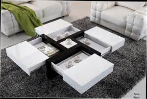 table basse avec plateau relevable noir table basse design