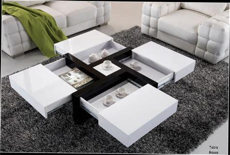 Table basse avec rangement bouteille maison design bahbe com