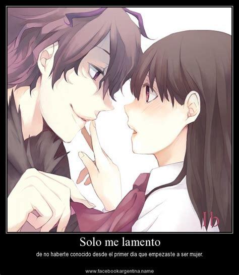 imagenes de amor con frases atrevidas anime