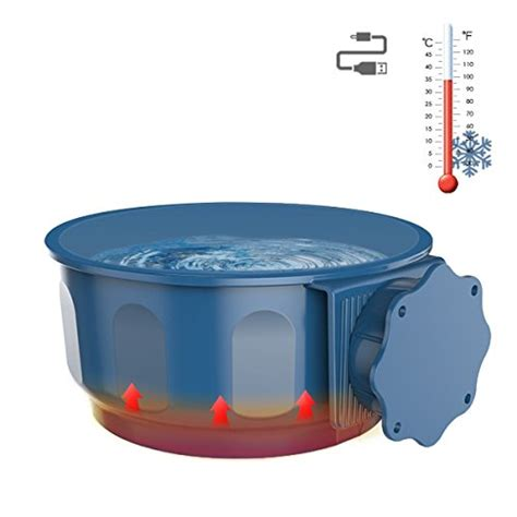 Herchy Pet Water Feeder H 125 top 18 best cat bowls pets list products