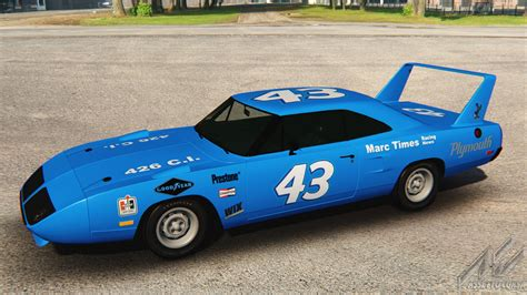 Richard Petty 43 by Plymouth Superbird Richard Petty 43 Racedepartment
