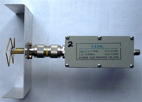 pin 23cm antenna on