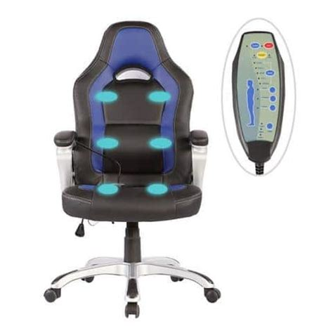 gaming chairs sgs office massage chair heated vibrating pu