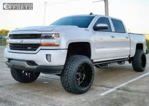 Lifted Chevrolet Silverado Wheel Offset 2016 Chevrolet Silverado 1500