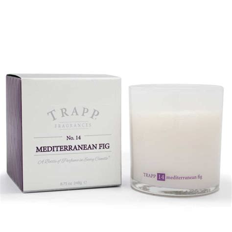 Trapp Candles Trapp Candles No 14 Mediterranean Fig 8 75 Oz Poured Candle