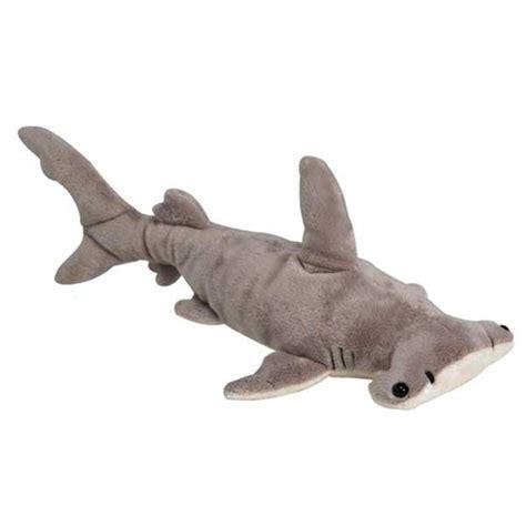 shark plush stuffed hammerhead shark 16 inch plush shark by at stuffed safari