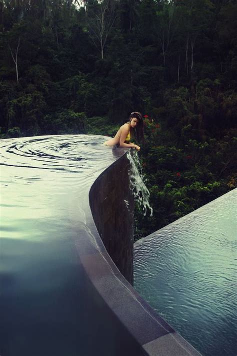 hanging infinity pools in bali 1000 ideas about ubud hotels on pinterest bali style