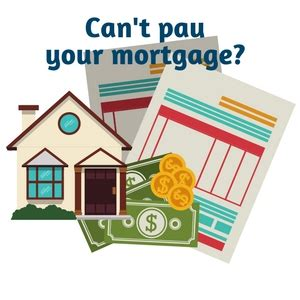 7 options when you can t pay your mortgage