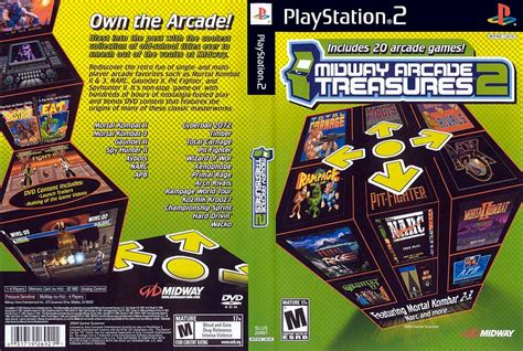 emuparadise xbox midway arcade treasures 3 ps2 iso