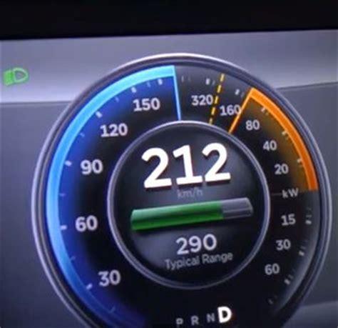 Tesla Top Speed Top Speed Test Tesla Model S P85 Gets Driven On