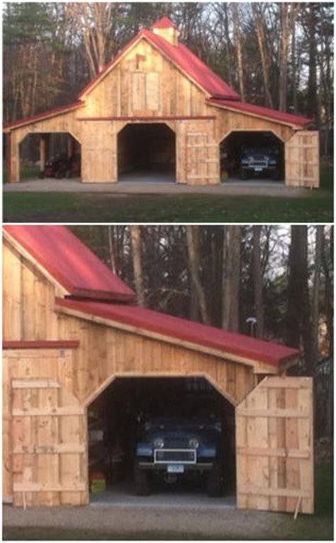 customers pole barn plans  country garage plans