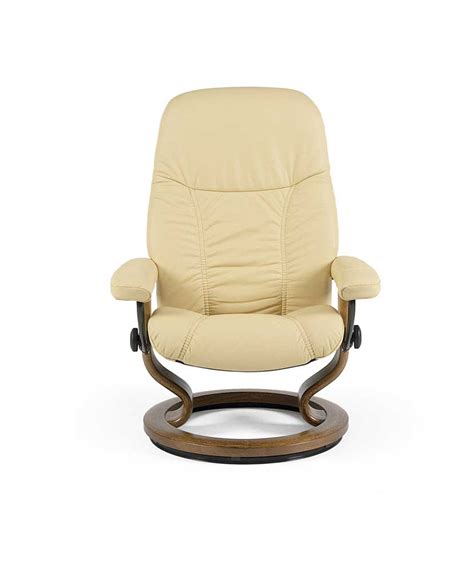 small chair and ottoman stressless by ekornes stressless recliners 1145015 consul