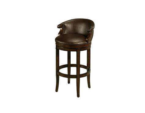 swivel bar stools leather princetown swivel bar stool distressed cherry leather