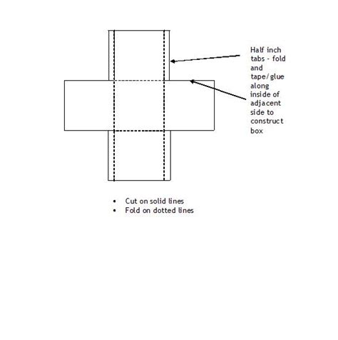 templates of boxes to fold fold your own box template
