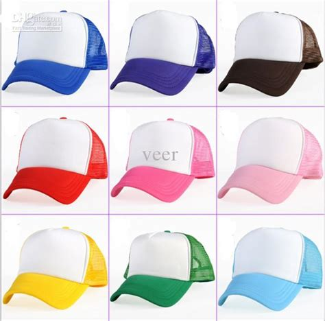 Topi Trucker Hat Topi Unisex Day High Quality custom trucker hat blank mesh trucker hat wholesale