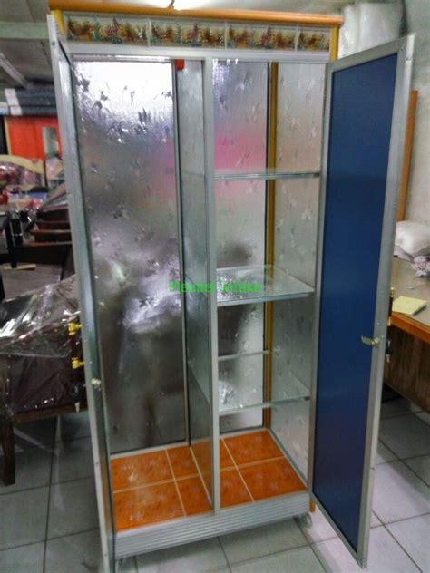 Free Ongkir Jakarta Tangeranglemari Pakaian Cermin 2 Pintu jual lemari pakaian 2 pintu kaca transparan cermin