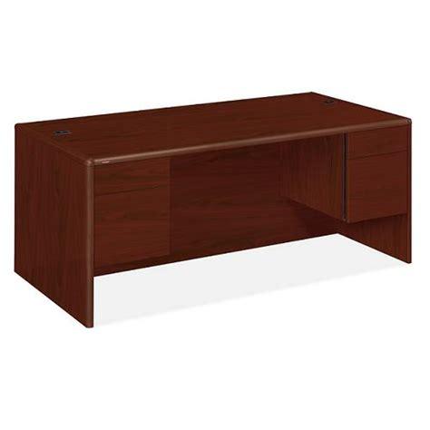 hon desks for sale hon double pedestal desk w 3 4 pedestals 36 quot x 72