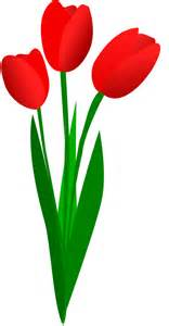 Flowers In Vase Clip Art Tulip Flower Clipart Clipartsgram Com