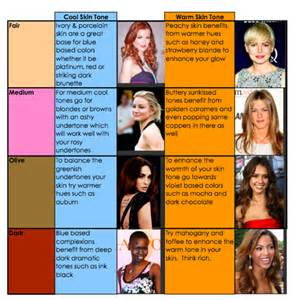 hair color for warm skin tone how to find the best hair color for your skin tone