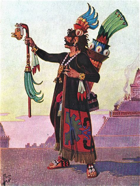 imagenes de sacerdotes mayas aztecas bajo el reino del dios de la guerra ilustraciones