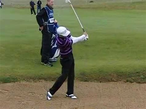 luke donald iron swing luke donald golf swing mid iron scottish open july