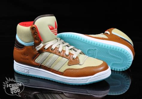 Adidas Ad027 Light Blue Brown adidas centennial mid brown light blue sole redemption