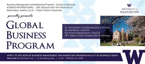 International Mba Program by Global Business Program