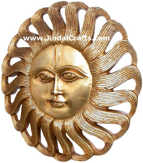 India Home Decor brass sun mask india carving artifacts arts