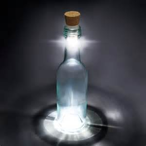 flaschen beleuchten led bottle cork turn empty bottles into ls the