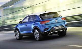 vw uk new cars vw t roc 2017 revealed new suv specs design and